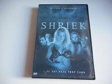 DVD - SHRIEK   si vous l'entendez ... il est déja trop tard
