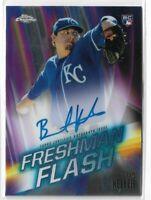 2019 Topps Chrome Baseball Rookie Autograph Brad Keller Freshman Flash 67/99