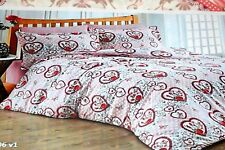 BED LINEN COTTON 100%-MODERN YOUTHFUL KING SIZE/BEDDING SET/LUXURY COTTON