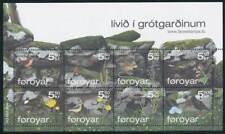 245518) Dänemark Färöer Klbg. Nr.615-622** Steinwald der Indmark