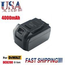 For Dewalt 18V 18 Volt Dcb200 Dcb204 Dcb205 Max Xr 4.0Ah Lithium-Ion Battery