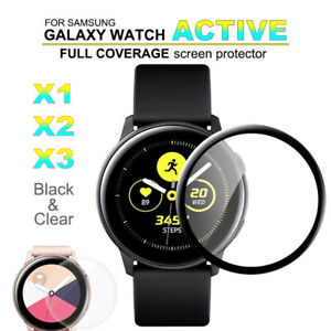 Samsung Galaxy Watch Active 2 40mm 44mm Full Cover HYDROGEL Screen Protector