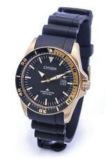Citizen Promaster Eco-Drive BN0104-09E Black Gold Divers 200m Analog Sport Sea