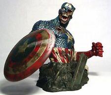 MARVEL ZOMBIES SDCC EXCLUSIVE COLONEL CAPTAIN AMERICA AP#9/500 BUST STATUE Hulk