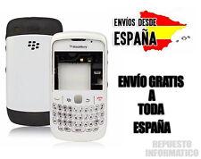 Carcasa Blackberry 9300 BLANC CHASIS+FRONTAL+TECLADO+MARCO PANTALLA+TAPA TRASERA