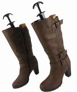 Tolle Damen Stiefeletten Reißverschluss Damenstiefel Ladies Low Boot EUR 40