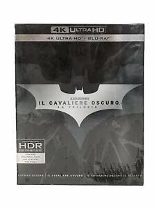 IL CAVALIERE OSCURO TRILOGIA 4K - (9 DISCHI) - BATMAN - CHRISTOPHER NOLAN - DC -