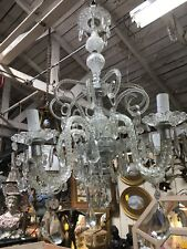 Vintage Venetian Glass Chandelier