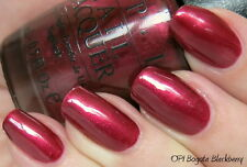 NEW! OPI Nail Polish Vernis BOGOTA BLACKBERRY ~ A berry deep, dark wine shade