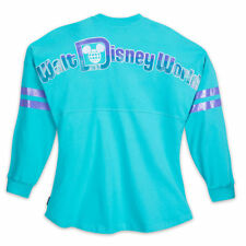Walt Disney World Spirit Jersey for Women ~ Size XS ~ Iridescent Aqua NWT ~ NEW!