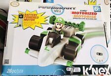 Mariocart Wii K'nex Luigi and standard cart building set