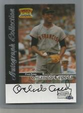 1999 Sports Illustrated Baseball Orlando Cepeda Greats Of The Game Auto (CSC)