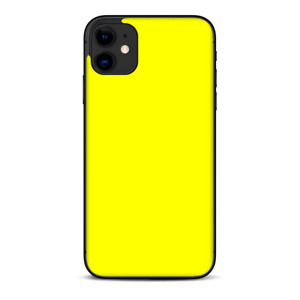 Skins Decal Wrap for Apple iPhone 11 - Bright Yellow