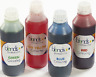 4 bottles 0.5l Food Colouring Colour Color liquid yellow, blue, green, red blend