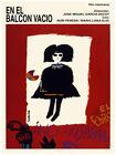 Movie Poster for film EN EL BALCON vacio.Mexican.Gothic girl.Emo Room art decor