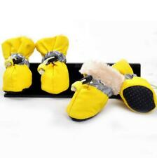 4pcs/set Pet Shoes Winter Dog Cat Snow Boots Warm  Boots for Chihuahua Puppy Dog
