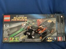 LEGO Super Heroes 76012 BATMAN Riddler Chase The Flash Justice League Retired