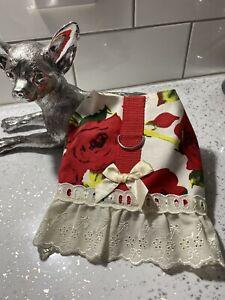 CHIHUAHUA PET HARNESS DRESS HANDMADE