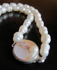 Unbranded Pearl Silver Plated Fine Jewellery