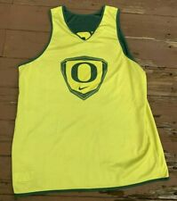 Player Worn Team Issued Oregon Ducks Reversible Basketball Authentic Jersey 2xl