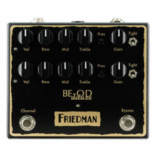 New Friedman BE-OD Deluxe Overdrive Guitar Effects Pedal!
