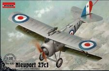 Roden Models 1/32 NIEUPORT 27c1 French WWI Fighter