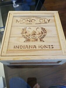 Indiana Jones Collector's Edition Monopoly Board Game Complete