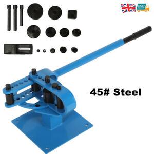 Heavy Duty Steel Pipe Tube Bender Manual Bending Machine 45# Steel with 7 Dies