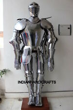 Medival Knight Suit of Armor Wearable Costume Authentic Reproduction Replica