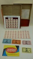 Vintage 1964 Jeopardy Fourth 4th Edition Game For Parts Not Complete
