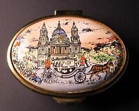 Staffordshire Enamels Commemorate the Wedding of Prince Charles & Lady Diana Box