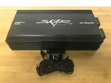 REFURBISHED SKAR AUDIO RP-1200.1D 1600 WATT MAX POWER CLASS D MONO SUB AMPLIFIER