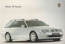Rover 75 Tourer 2001 UK Market Launch 8pp Sales Brochure