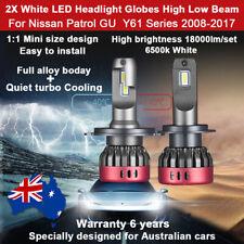 For Nissan Patrol GU Y61 Series 2008-2017 Headlight Globe high low beam LED bulb