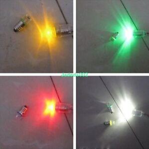 5pcs DC3V~8V 0.5W E10 screw mouth LED Indicator light Physical experiment bulb