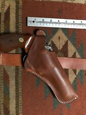 """FITS Taurus Model 66 627 Ruger GP100 S&W 686 4"""" Two Position Holster Cross Draw"""