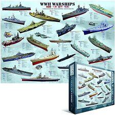 II Guerra Mundial BUQUES DE GUERRA Rompecabezas de 1000 piezas ( pz)