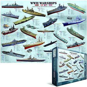 World War 2 Warships 1000 piece jigsaw puzzle 680mm x 490mm (pz)