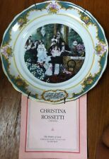 Franklin Porcelain The Poetry of Love collection 1982 CHRISTINA ROSSETTI SPEIRS