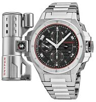 Snyper Men's Iron Clad Chronograph Stainless Steel Automatic Watch 50.200.0M