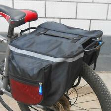 Waterproof Double Panniers Bag Bike Bicycle Rear Seat Saddle Package Outdoor New