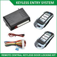 Control Remoto Universal Bloqueo Central Kit  de entrada sin llave Indicador Led