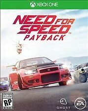 Need for Speed Payback (Microsoft Xbox One, 2017) - COMPLETE