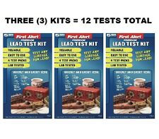 (3) Three LeadCheck Instant Lead Testing Kits Total 12 Tests, 24 swabs Pb-2M8I
