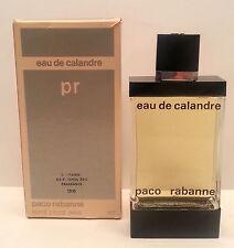 Vintage Eau De Calandre Paco Rabanne France 2oz / 60 ml Splash BNWB **RARE**