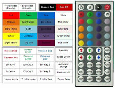RGB LED CONTROLLER 12VOLT WITH 44 KEY REMOTE