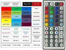 RGB LED CONTROLLER 12VOLT CON 44 KEY REMOTE