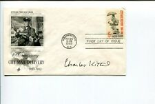 Charles Kittel Famous Physicist University of California Signed Autograph Fdc