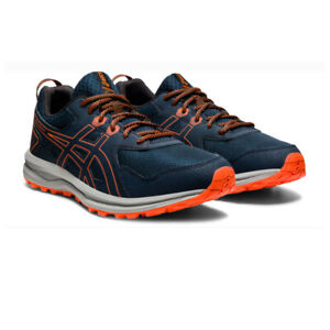 Asics Mens Trail Scout Running Shoes Trainers Sneakers Navy Blue Sports