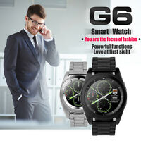 G6 / DZ09 Smart Watch Bluetooth Camera Wrist Heart Rate Monitor For iOS Android